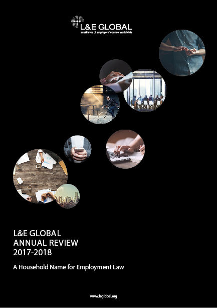 L&E Global Annual Review 2017-2018